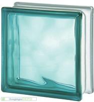 Turquoise 1919/8 Wave üvegtégla