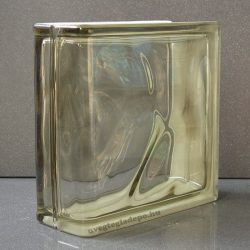 Brown 1919/8 Linear end Wave lezáró üvegtégla