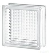 CLEAR 884 CROSS RIBBED (CROSS SMALL) üvegtégla