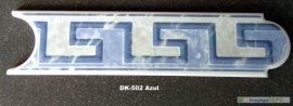DK-502 Azul csempedekor-listelo