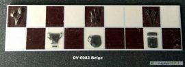 DV-6802 Beige csempedekor-listelo