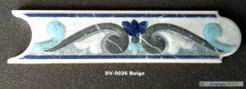 DV-5026 Azul csempedekor-listelo