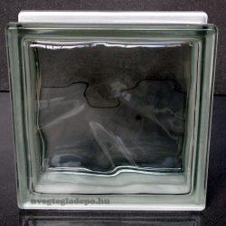 Clear 1919/8 Wave Energy Saving - Hőszigetelt üvegtégla 1,1 K értékű
