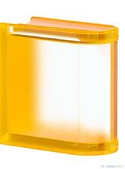 Mini Apricot Linear End lezáró üvegtégla