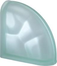 Pegasus Green Ter Curved O Sat lezáró üvegtégla