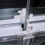 Üvegtégla merevítő vasalat 70cm