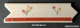 DV-6326 Marron csempedekor-listelo