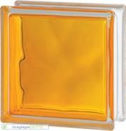 Brilly Yellow 1919/8 Wave üvegtégla