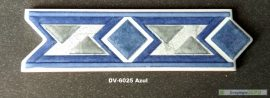 DV-6025 Azul csempedekor-listelo