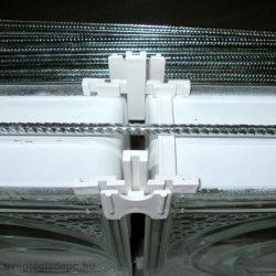 Üvegtégla merevítő vasalat 210cm