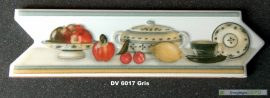 DV-6017 Gris csempedekor-listelo