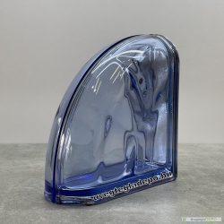 Pegasus Blue Ter Curved O Met lezáró üvegtégla