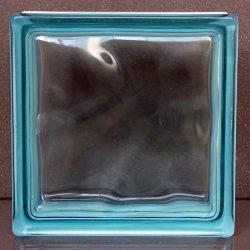 Azur 1919/10 Wave üvegtégla  Megszűnt a gyártás,csak a raktáron lévő mennyiség rendelhető!