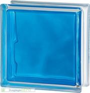 Brilly Blue 1919/8 Wave üvegtégla