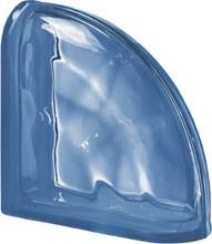 Pegasus Blue Ter Curved O lezáró üvegtégla