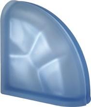 Pegasus Blue Ter Curved O Sat lezáró üvegtégla