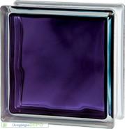 Brilly Violet 1919/8 Wave üvegtégla