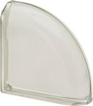 New Color Bianco Ter Curved  O met lezáró üvegtégla