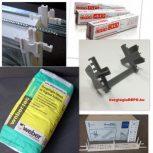 Beépítési segédanyagok