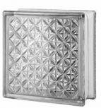 19,7x19,7x8 cm méretű színtelen üvegtéglák