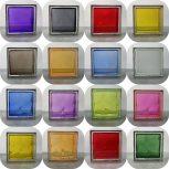Színes üvegtéglák
