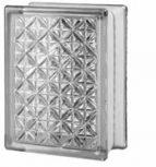 14,6x19,7x8 cm méretű színtelen üvegtéglák